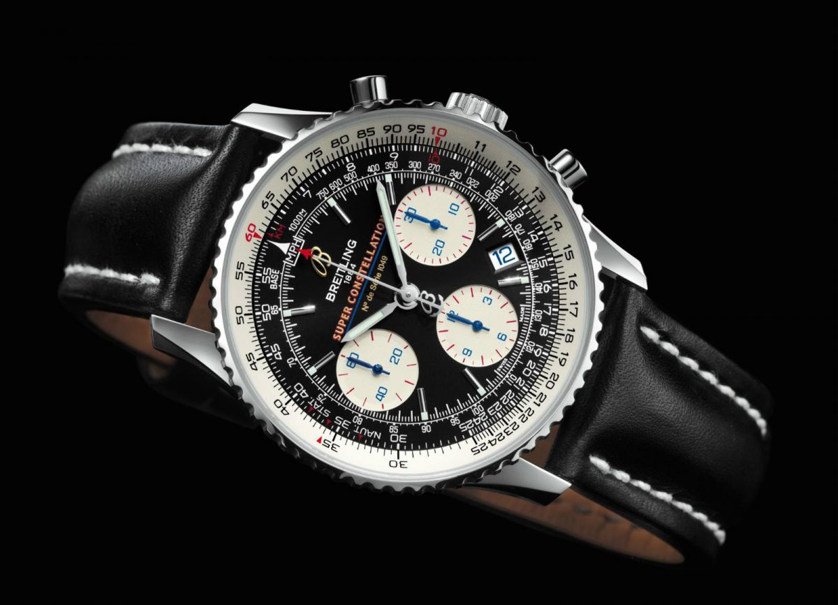 Breitling Navitimer Fake Watches UK With Date Apertures