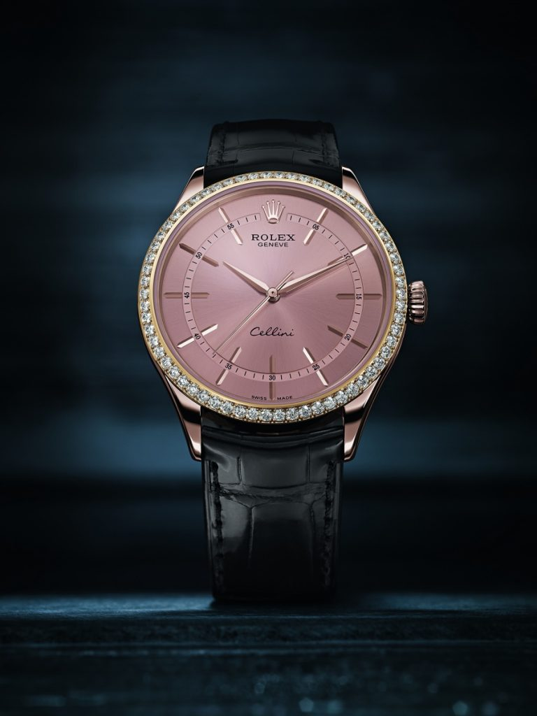 Rolex-Cellini-Time-fake-pink-dials