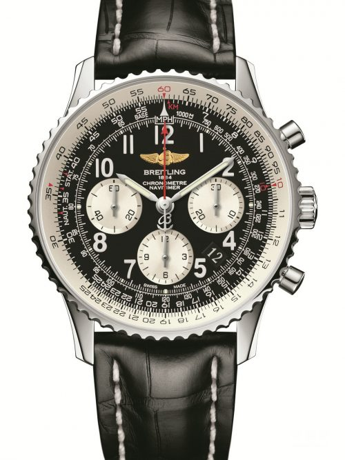 Breitling Navitimer Fake Cheap Watches UK With Black Dials Represented By John Travolta For Sale