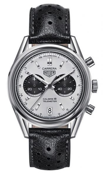 TAG Heuer Carrera Fake Watches UK With Silver Dials