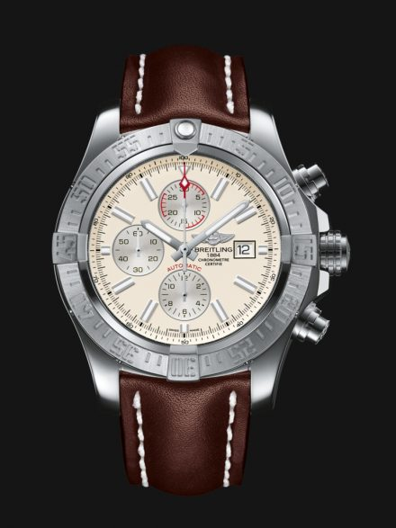 Breitling Avenger Copy Watches UK With Ivory Dials Worn By Mel Gibson In The Expendables