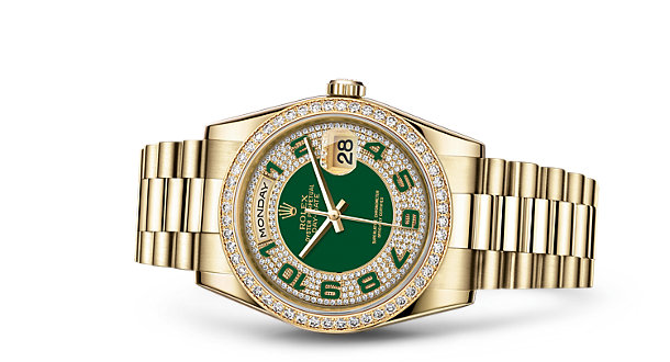 What Are The Most Luxurious Rolex Day-Date Copy Watches UK With 18CT Yellow Gold Cases?