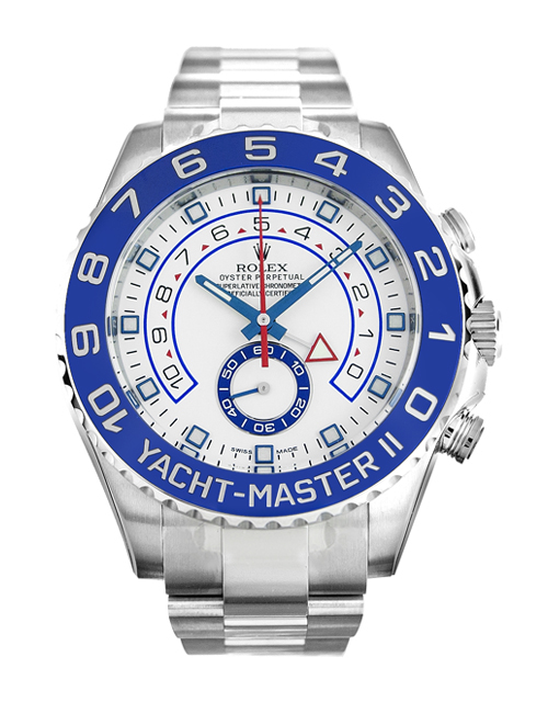 Rolex Yacht-Master II Copy Swiss Cheap Watches UK With Blue Bezels For Sale