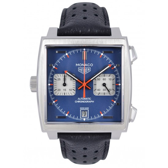 TAG Heuer Monaco Copy Watches UK With Mat Blue Dials At Good Discount