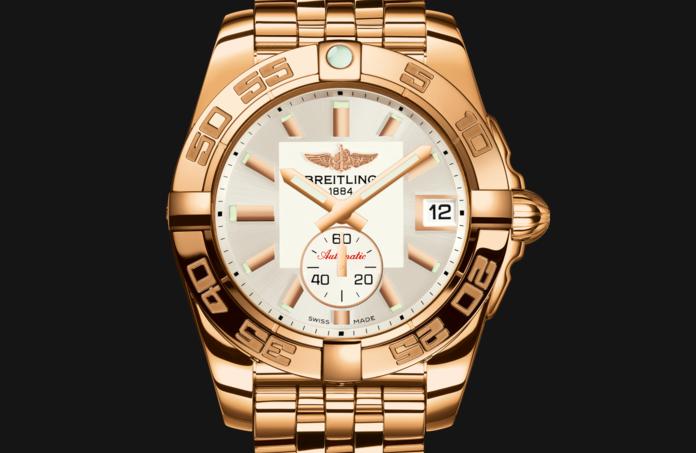 Breitling-Galactic-Rose-Gold-Fake