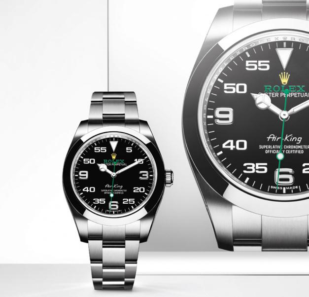Rolex-Air-King-Black-Dials-Fake
