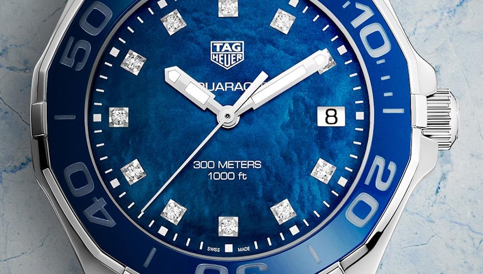 TAG-Heuer-Aquaracer-Ocean-Blue-Dials-Replica