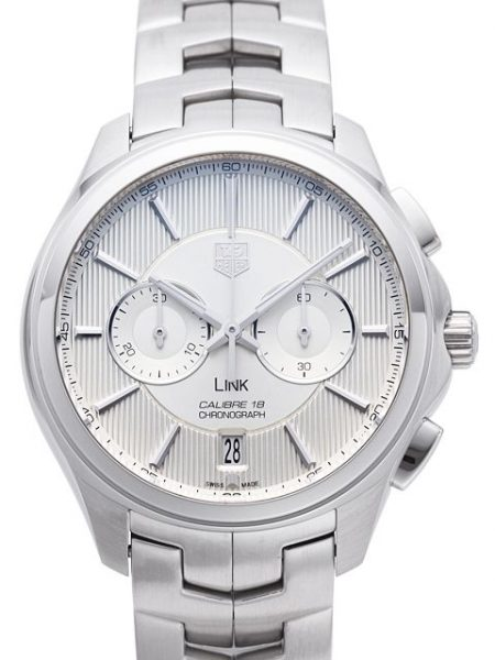 The Most Popular TAG Heuer Link Fake Watches UK With Silver Dials For Recommendation