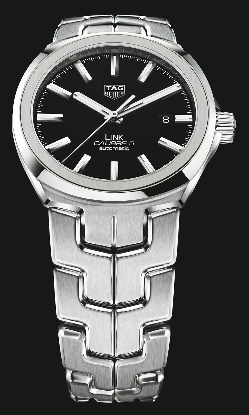 2017 UK TAG Heuer Link Calibre Replica Watches With Steel Bracelets For 30 Years Anniversary