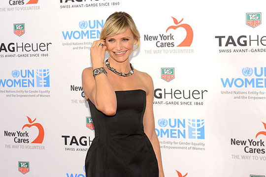 How Did Cameron Diaz Play UK Diamonds Plating Bezels TAG Heuer Link Lady Trilogy Replica Watches?