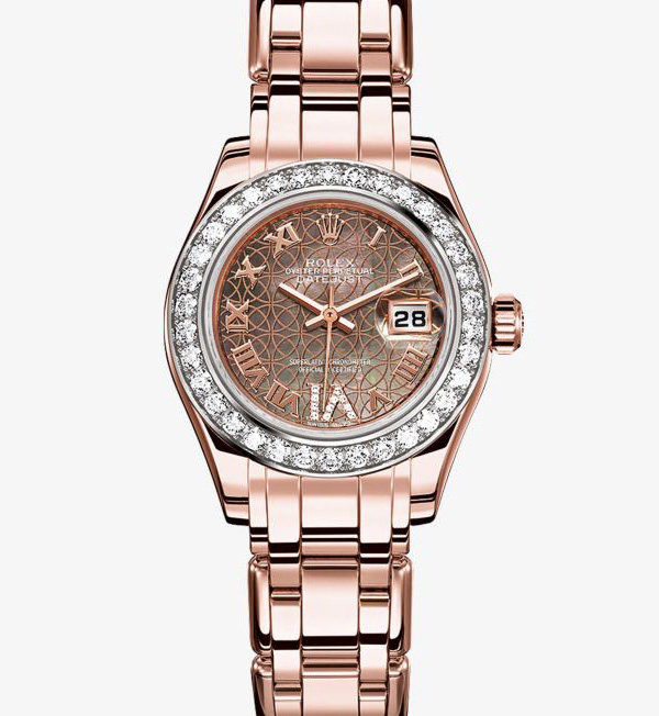 If You Do Not Like Watches Just For You Do Not Meet These Striking UK Replica Rolex Lady-Datejust Pearlmaster Watches