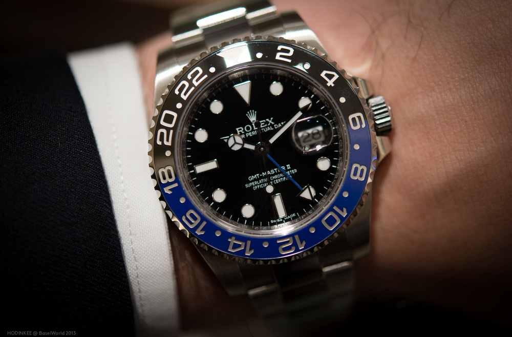 Black And Blue UK Rolex GMT-Master II Replica Watches Review