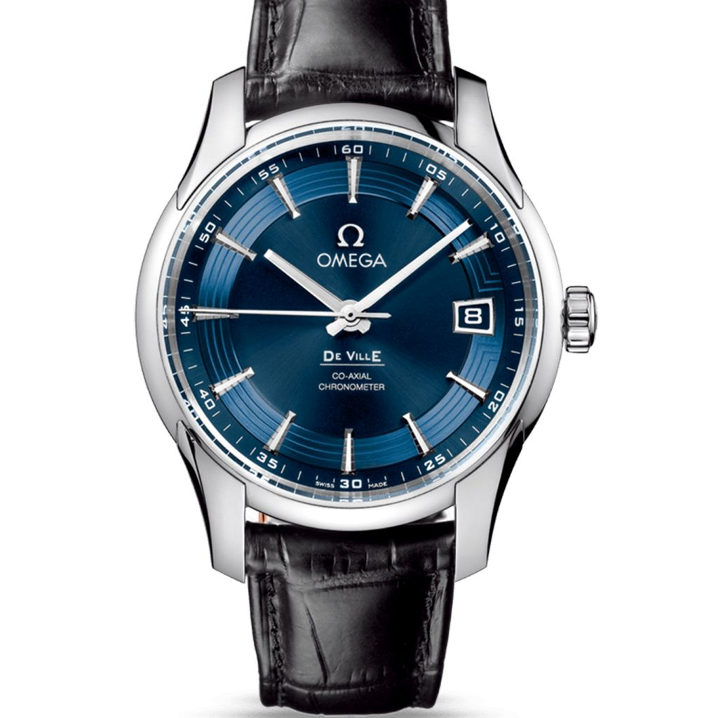 As a representative of elegant and accurate timepiece, with the high quality, stylish and delicate appearance, this blue dial replica Omgea watch leaves people a deep impression. 41mm stainless steel case through carefully polished sends out a unique luster.