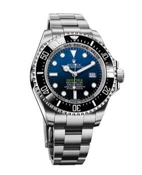 As a kind of remarkable diver watch, this fake Rolex watch also features delicate appearance, presenting a wonderful visual feast.