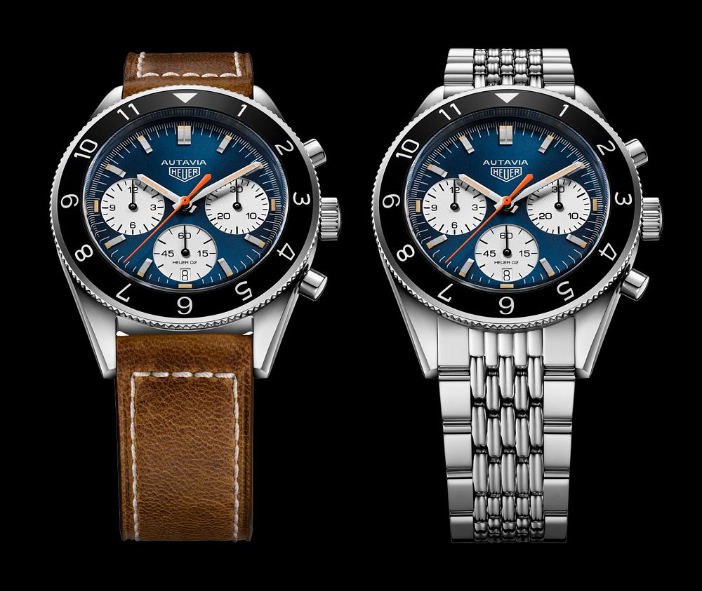 """Replica TAG Heuer Heritage Autavia UK """"Watches Of Switzerland Anniversary"""" Limited Edition With Retro Style"""