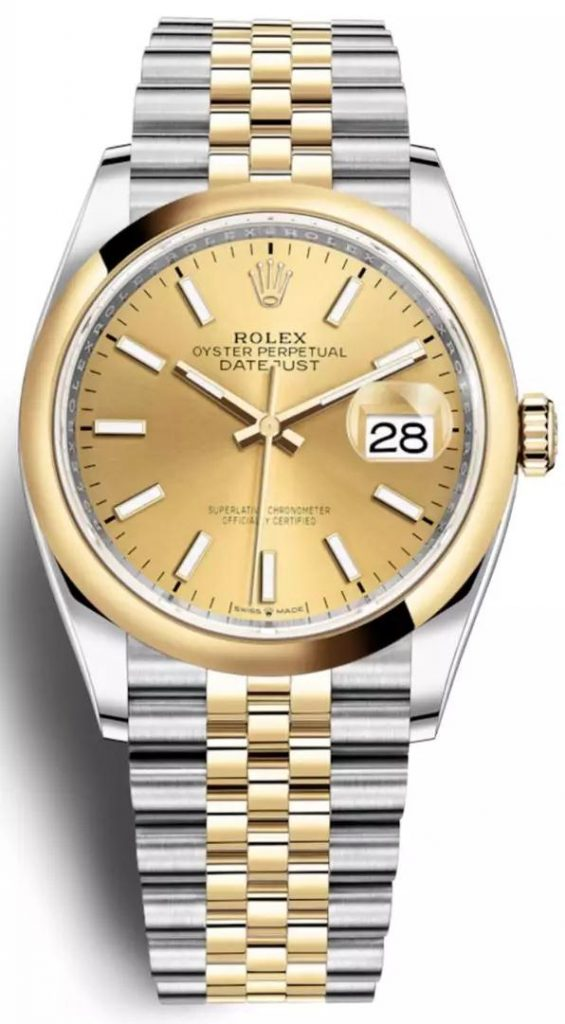 The Rolex has contained all the iconic features of the luxury watch brand.