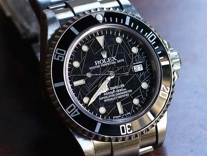 Review On Rolex Sea-Dweller Ref.16660 Replica Watch UK With Black Dial