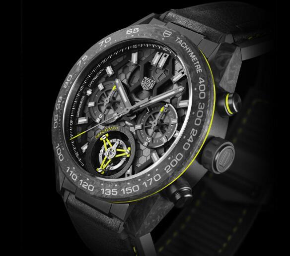 Luxury TAG Heuer Carrera Tourbillon Replica Watches UK Show You Innovative Technology