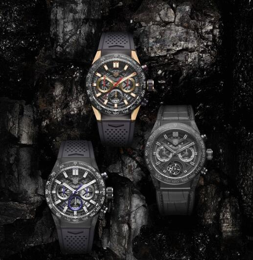 TAG Heuer Carrera Replica Watches UK With Skeleton Dials For Men