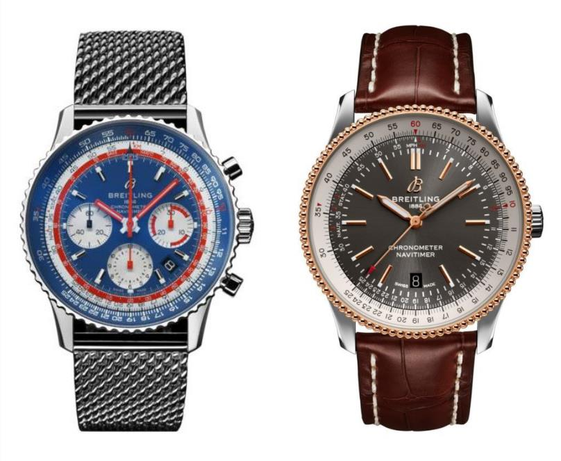 Introductions Of Two Brand-new Fake Breitling Navitimer Watches UK