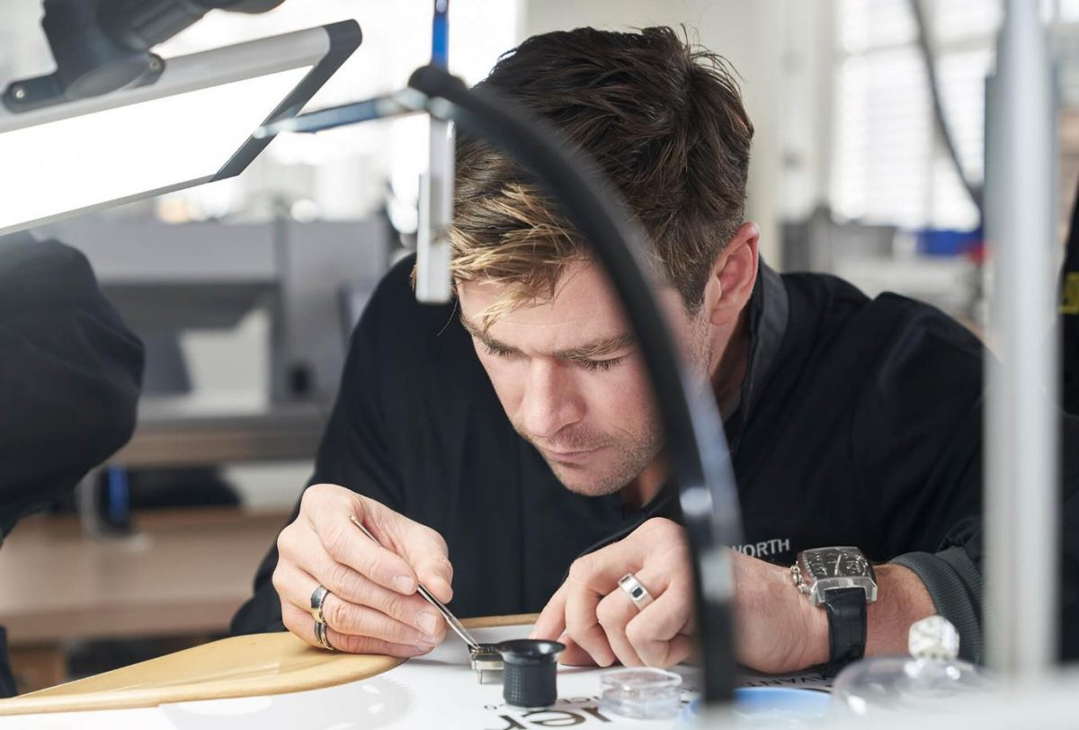 Chris Hemsworth With Famous Replica TAG Heuer Watches UK