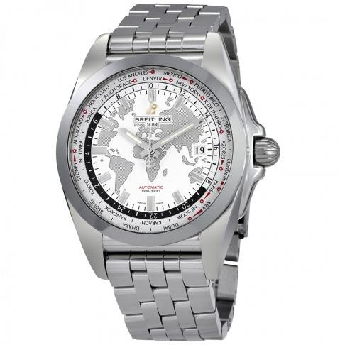 The sturdy fake watches are made from stainless steel.
