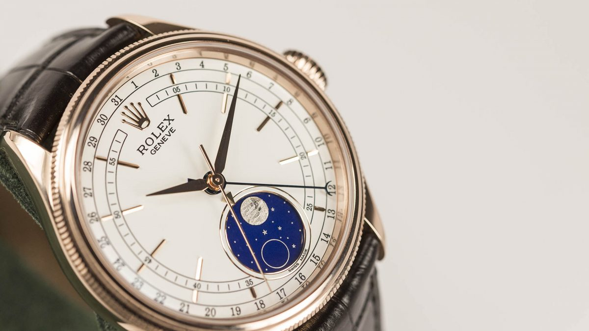UK Fantastic Watches Fake Rolex Cellini Moon Phase 50535 Are Worth Having