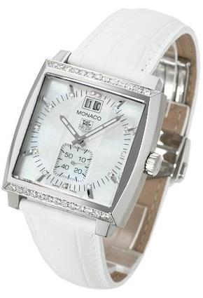 UK White Replica TAG Heuer Monaco WAW1313.FC6247 Watches For Females