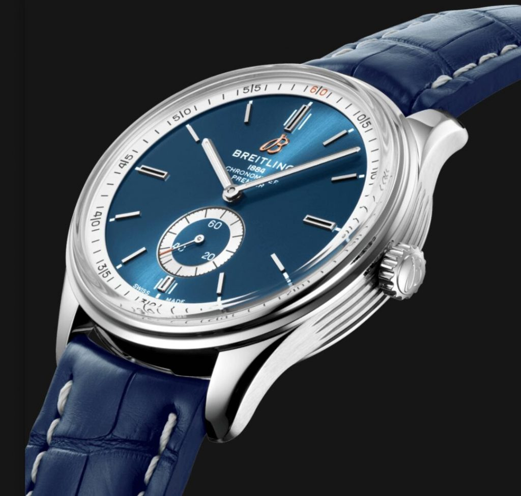 The stainless steel replica watches are designed for men.