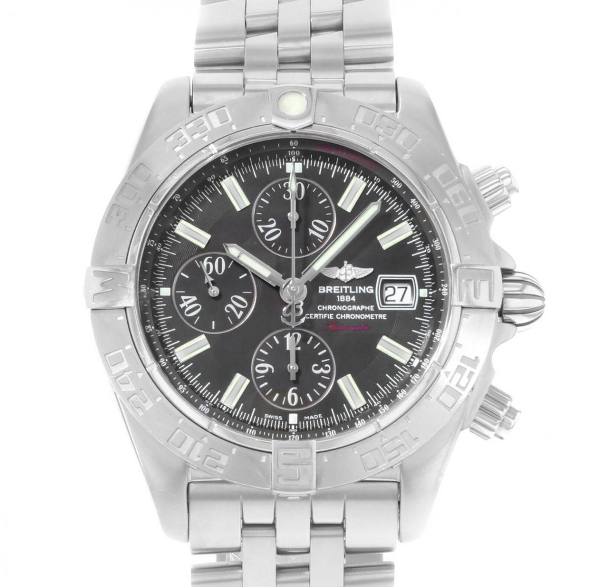 UK Exact Breitling Galactic A1336410 Fake Watch For Men
