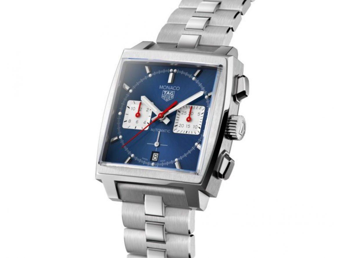 UK Blue Dial Fake TAG Heuer Monoca CBL2111.BA0644 Watch For Men