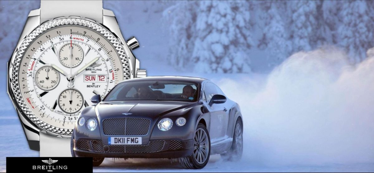 Hands-on Swiss Made Copy Breitling For Bentley GT ICE Watch UK