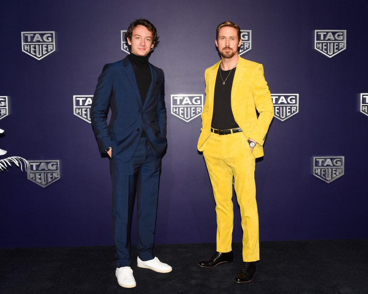 Ryan Gosling Strikes Up Partnership With Cheap Fake Tag Heuer
